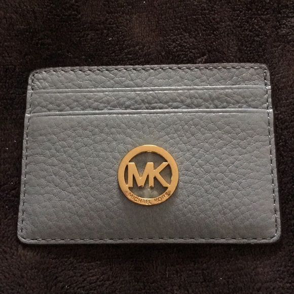 3da79ee44fe3 KORS Michael Kors Accessories | New Michael Kors Light Blue Card ...